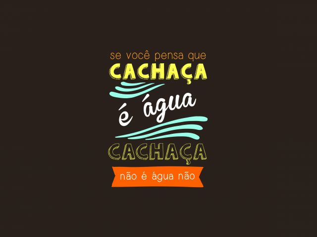 Poster Cachaça