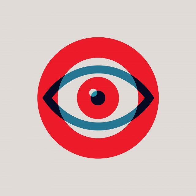 Poster Olho minimalista