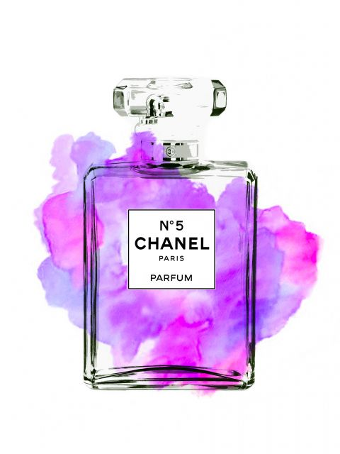 Poster Perfume chanel N5