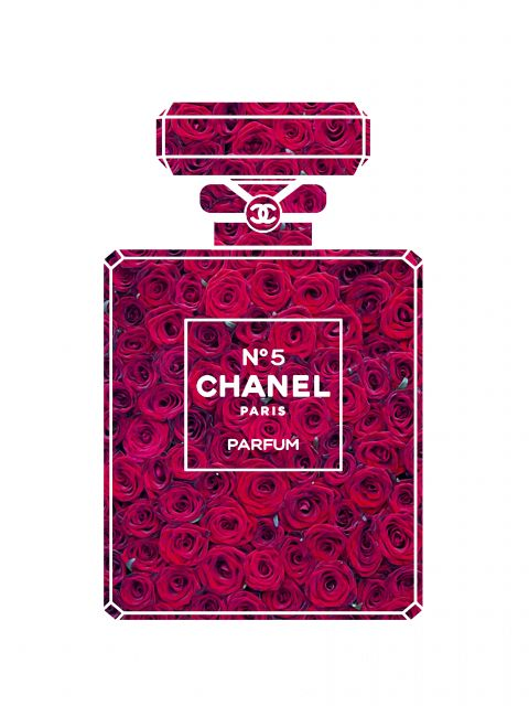 Poster Perfume Chanel N5 V