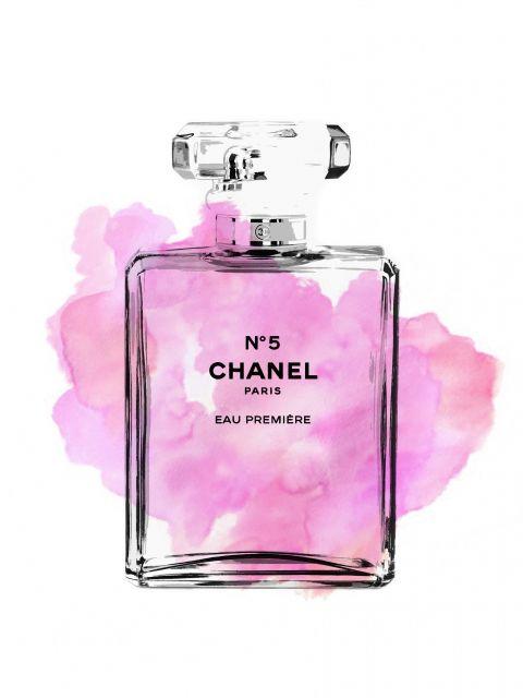 Poster Perfume Chanel N5 VI