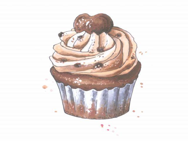 Poster Cupcake de chocolate