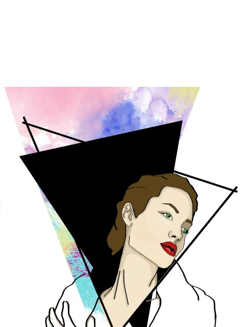 Poster PopArt Jolie   angelina jolie mulher