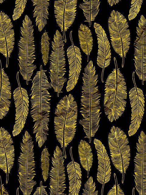 Poster Penas Douradas