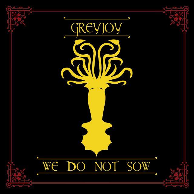 Poster Greyjoy Game of Thrones