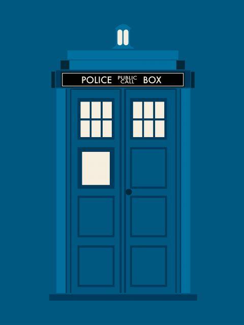 Poster Doctor Who  TARDIS