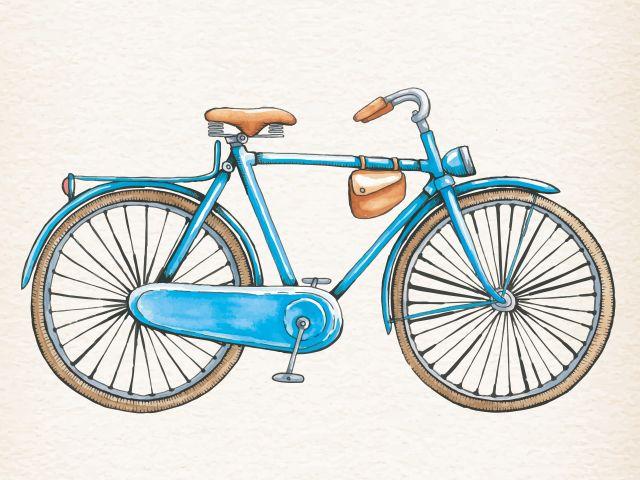 Poster Bicicleta Vintage II