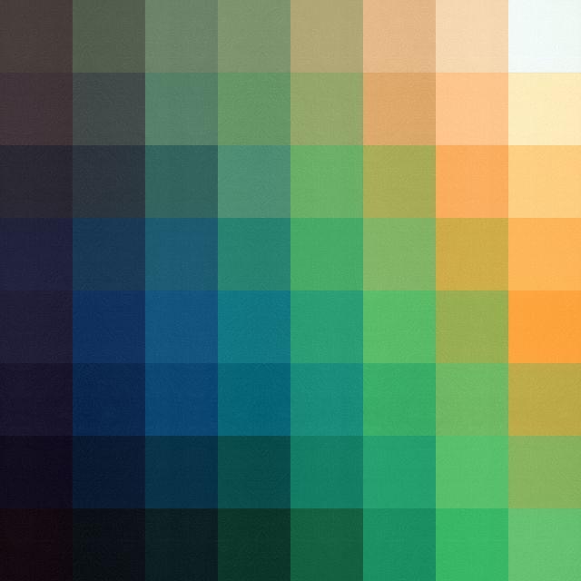 Poster Quadrados coloridos