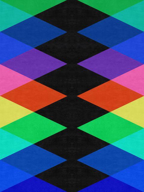 Poster Geométrico e colorido I