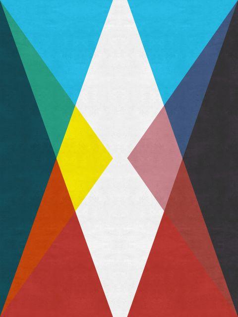Poster Geométrico e colorido II