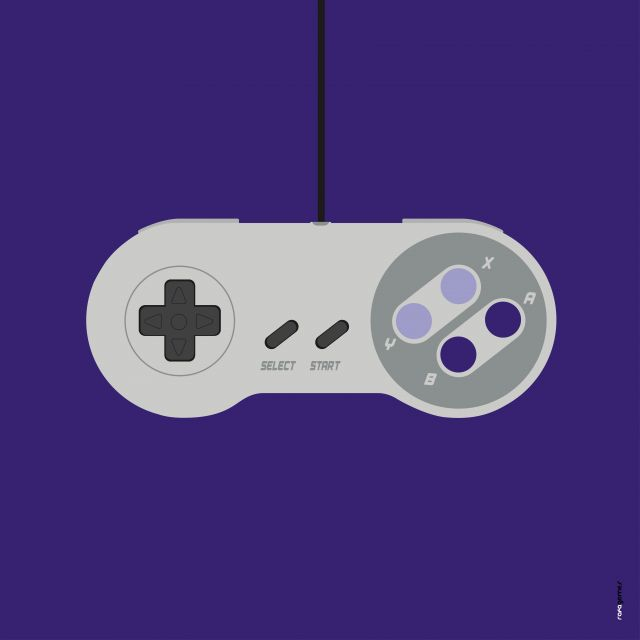 Poster Super Nintendo