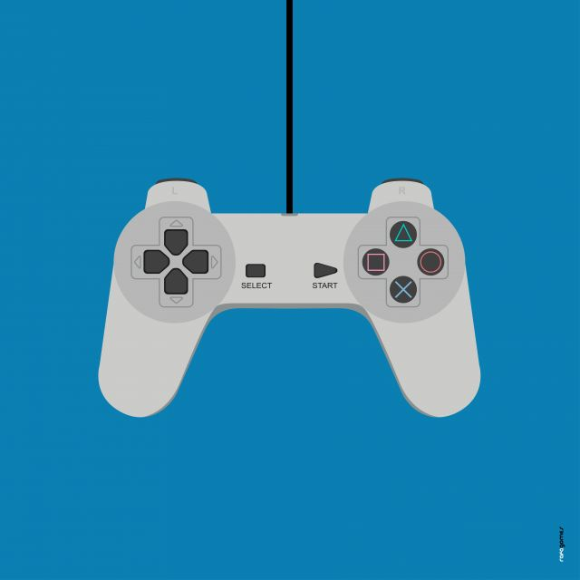 Poster Playstation 1