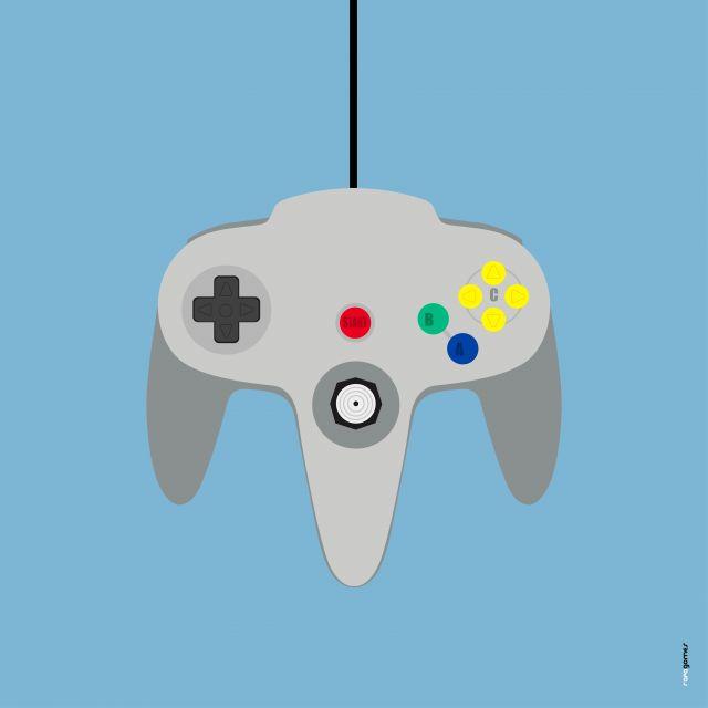 Poster Nintendo 64