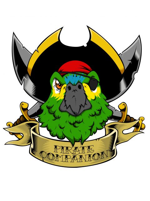 Poster Pirate Parrot  Papagaio pirata