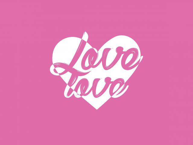 Poster Love Love  amor