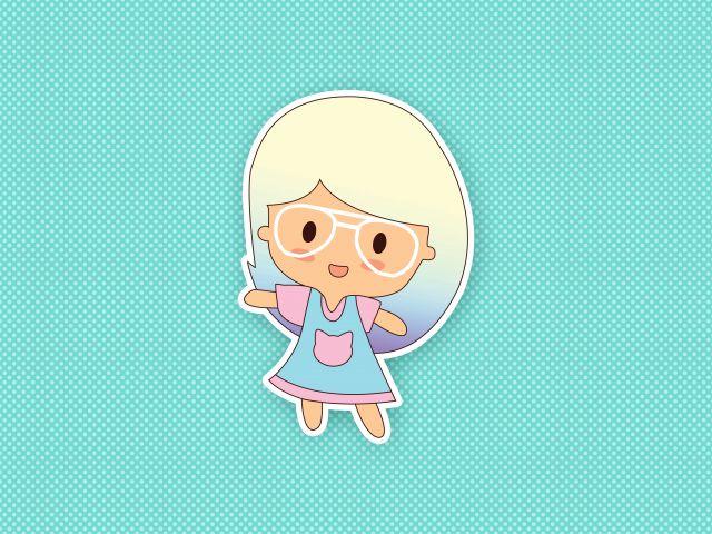 Poster Dany Kawaii   boneca