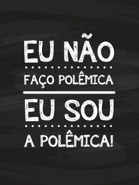 Poster Sou Polêmica