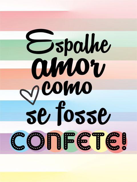 Poster Confete de Amor