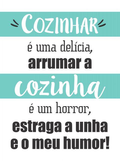 Poster Delícia de Cozinhar