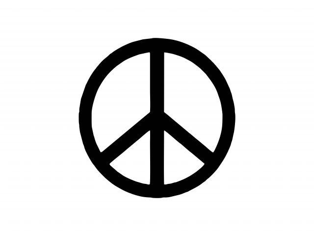 Poster Símbolo da Paz   peace