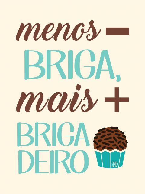 Poster Mais Brigadeiro