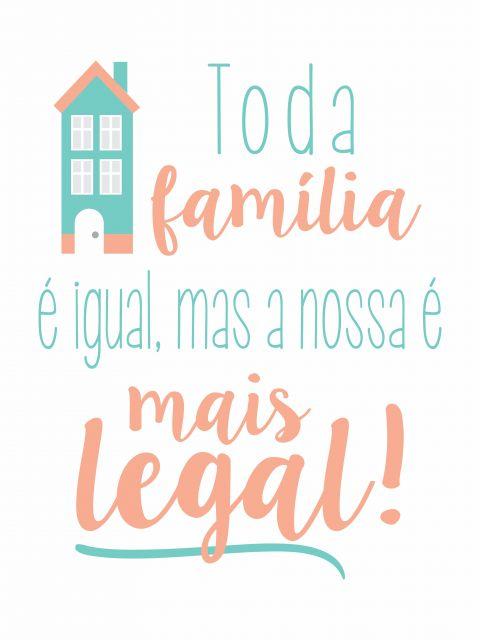 Poster Família Legal