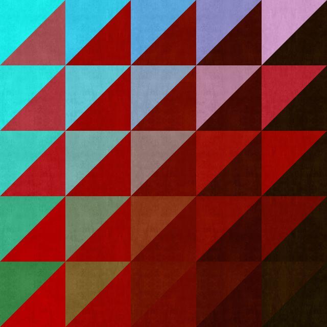 Poster Geométrico e colorido IV