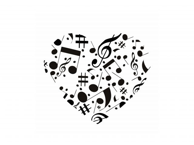 Poster Heart musical