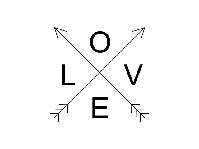 Poster Love Flecha