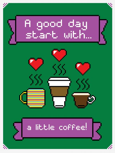 Poster I Love Coffee