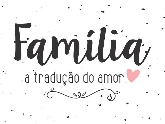 Poster Amor e Família