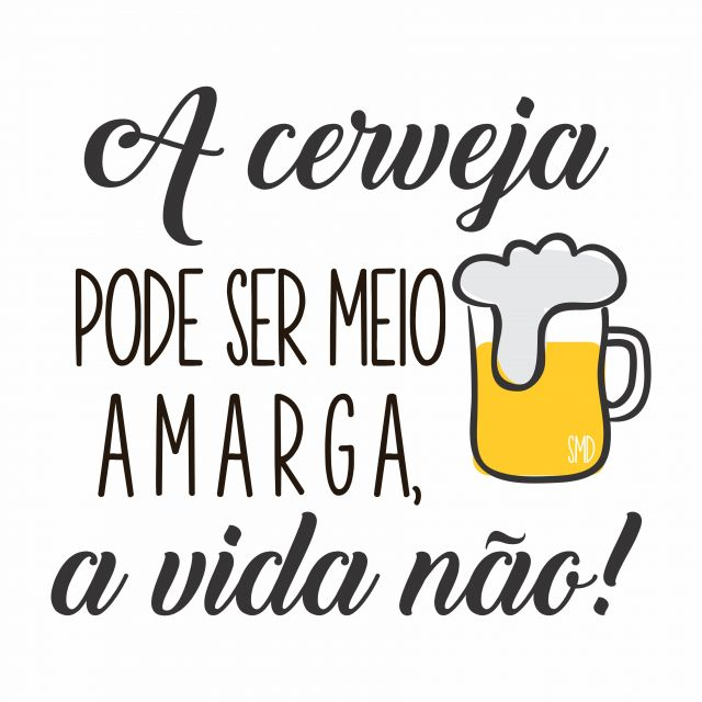 Poster Cerveja Amarga
