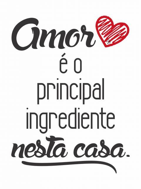 Poster Principal Ingrediente   amor