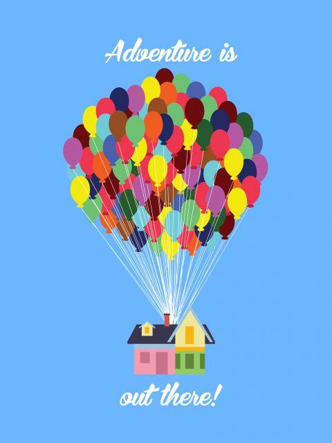 Poster Up - Altas Aventuras