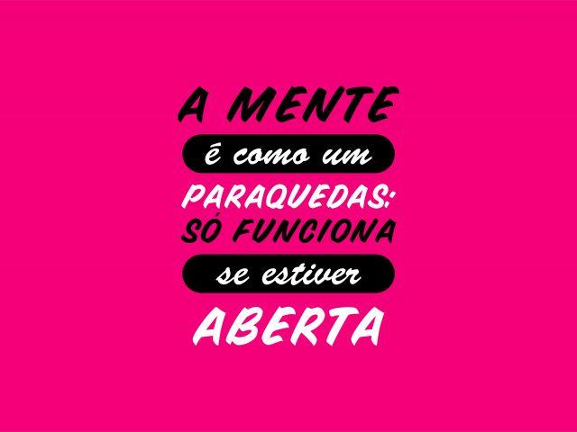 Poster Mente Aberta