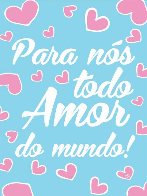 Poster Todo Amor do Mundo