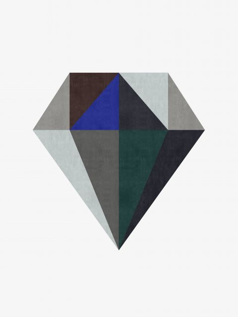 Poster Diamante Minimalista