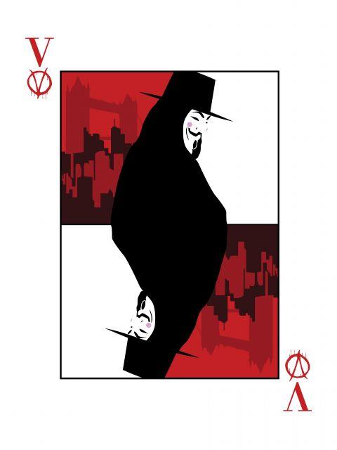 Poster V de Vingança