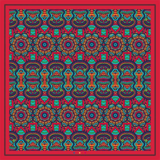 Poster Mandala da Primavera