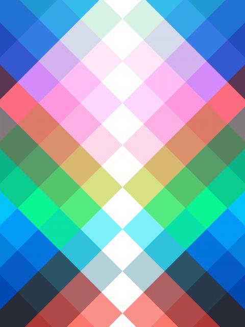 Poster Luzes Coloridas