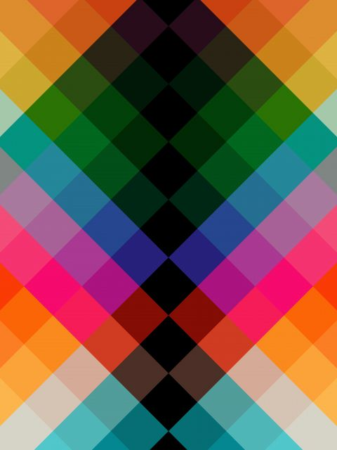 Poster Luzes Coloridas I
