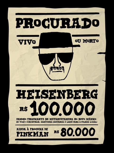 Poster Heisenberg Breaking Bad