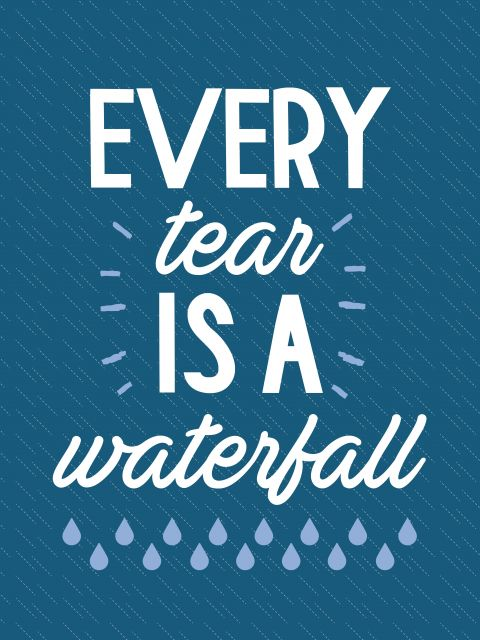 Poster Coldplay - Every Tear