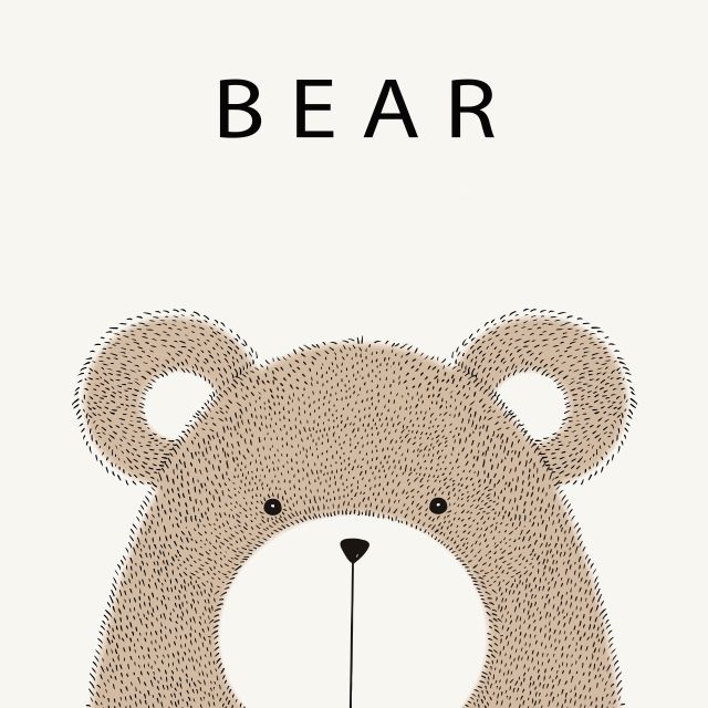 Porta Retrato Urso Bear Soupop