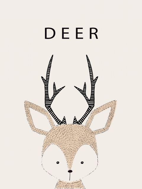 Poster Viado Deer