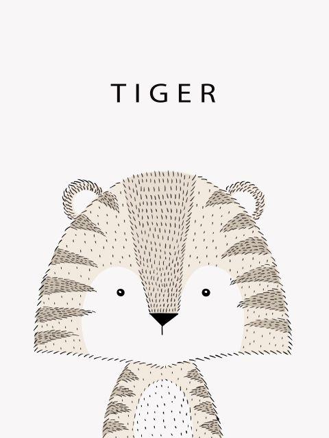 Poster Tigre Tiger