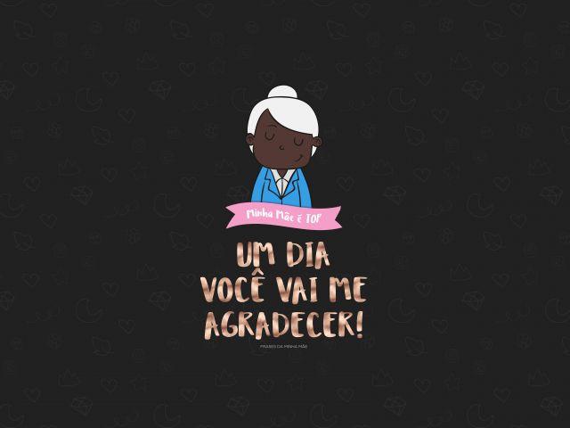 Poster Mãe Top-Me Agradecer  mãe frases da minha mãe