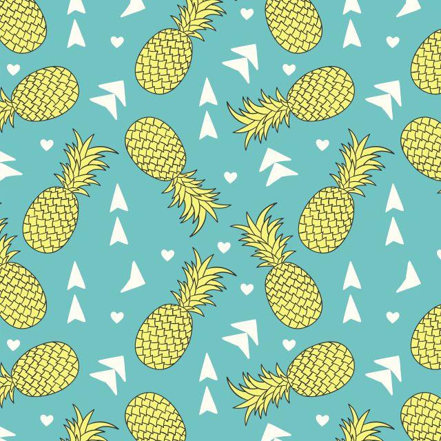 Poster Padrão de abacaxi I
