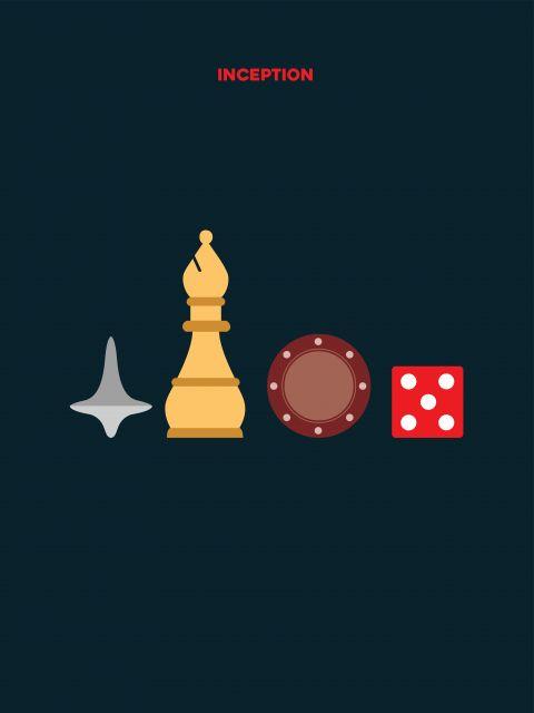 Poster A Origem  jogos
