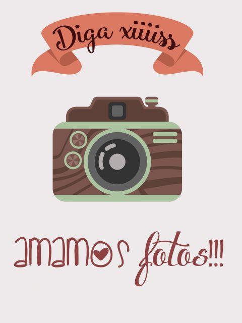 Poster Amamos fotos